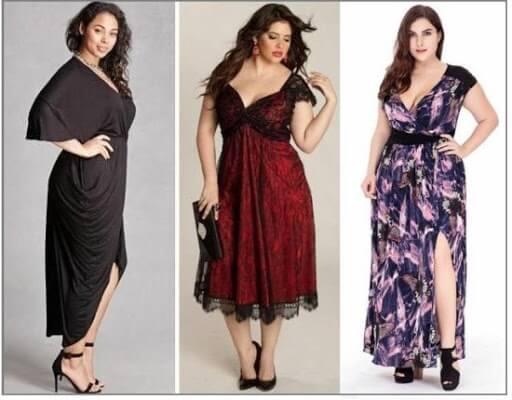 Как выбрать платье больших размеров