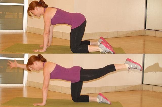 упражнение на баланс