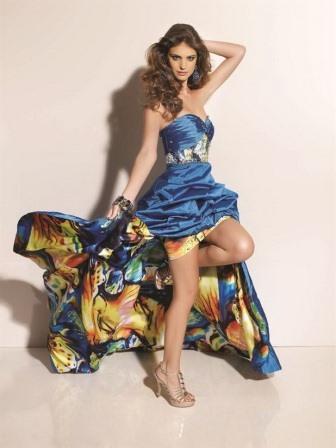 платье крыло бабочки