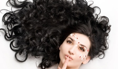 тип волос - жирные волосы