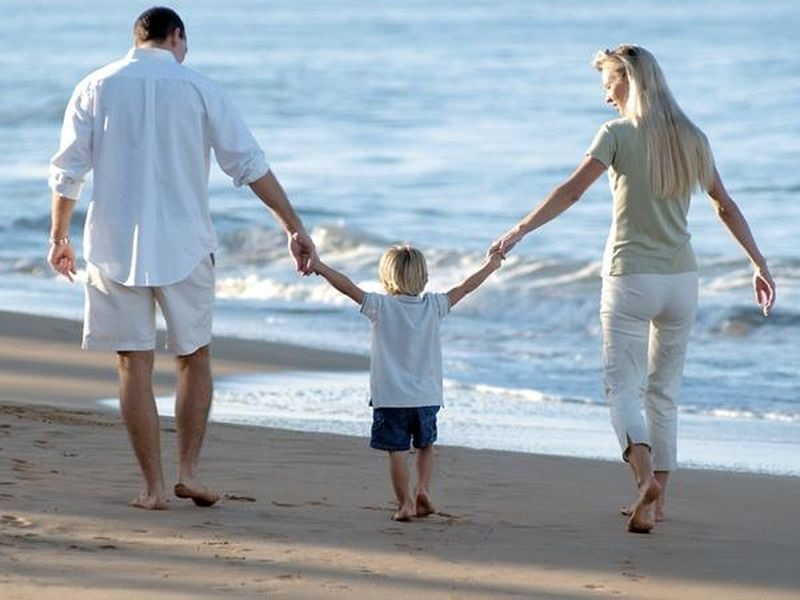 отдых с родными