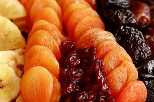 диета на сухофруктах