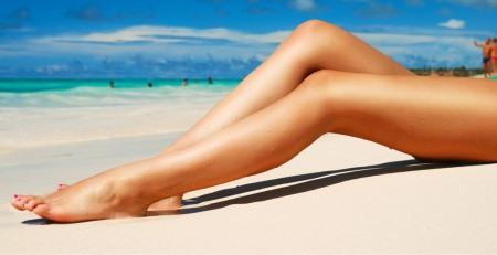 электроэпиляция на ногах
