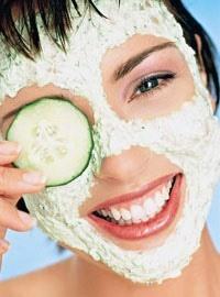 молочно огуречная маска для лица