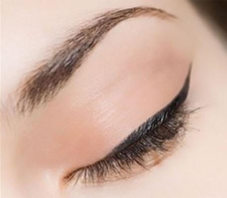 перманентный макияж глаз фото