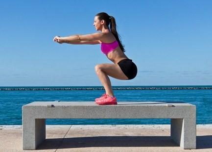 Подготовка к упражнениям на ноги