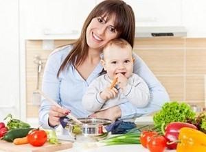 особенности питания кормящей мамы для похудения