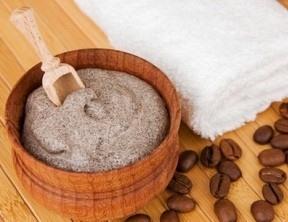 антицеллюлитный скраб из кофе