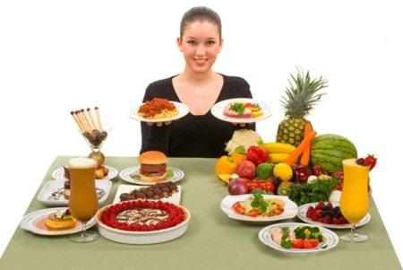 Замена вредной пищи